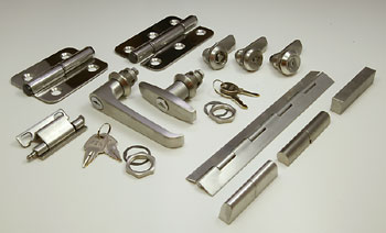 Stainless steel products from FDB Panel Fittings